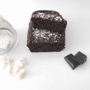Fondant Chocolat-Noix de coco