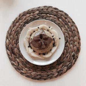 Bowlcake Poire-Chocolat-Amandes